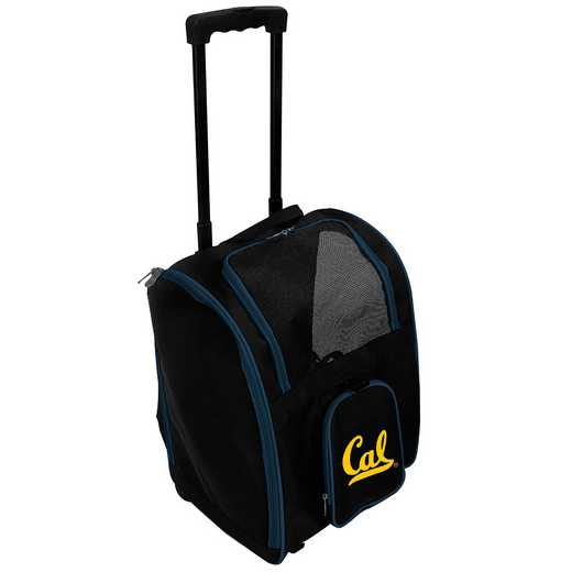 CLCBL902: NCAA California Bears Pet Carrier Premium bag W/ wheels